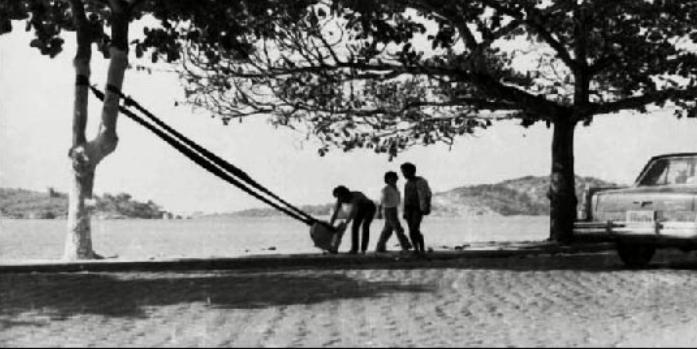 O Estilingue - 1970Foto: Sagrillo