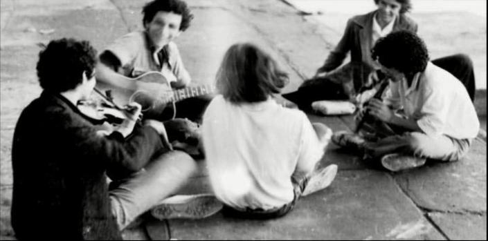 O Estilingue - 1970 (detalhe da montagem)Foto Sagrillo