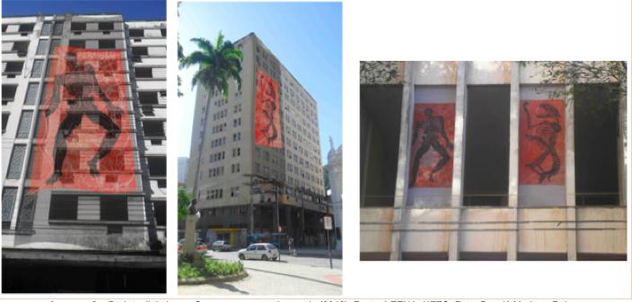 """Maquete digital para edital de fomento. """"Projecto Mutantes"""" (Mariana Reis, 2013).[Créditos da Imagem: Mariana Reis p/ Arte Pública Capixaba. 2012-11.]"""