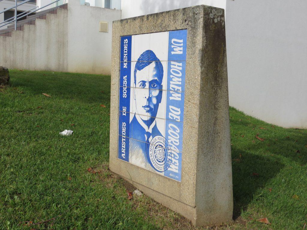 """""""Aristides de Sousa Mendes"""".[Créditos da imagem: Ruben Marques. 2019-10-15.]"""