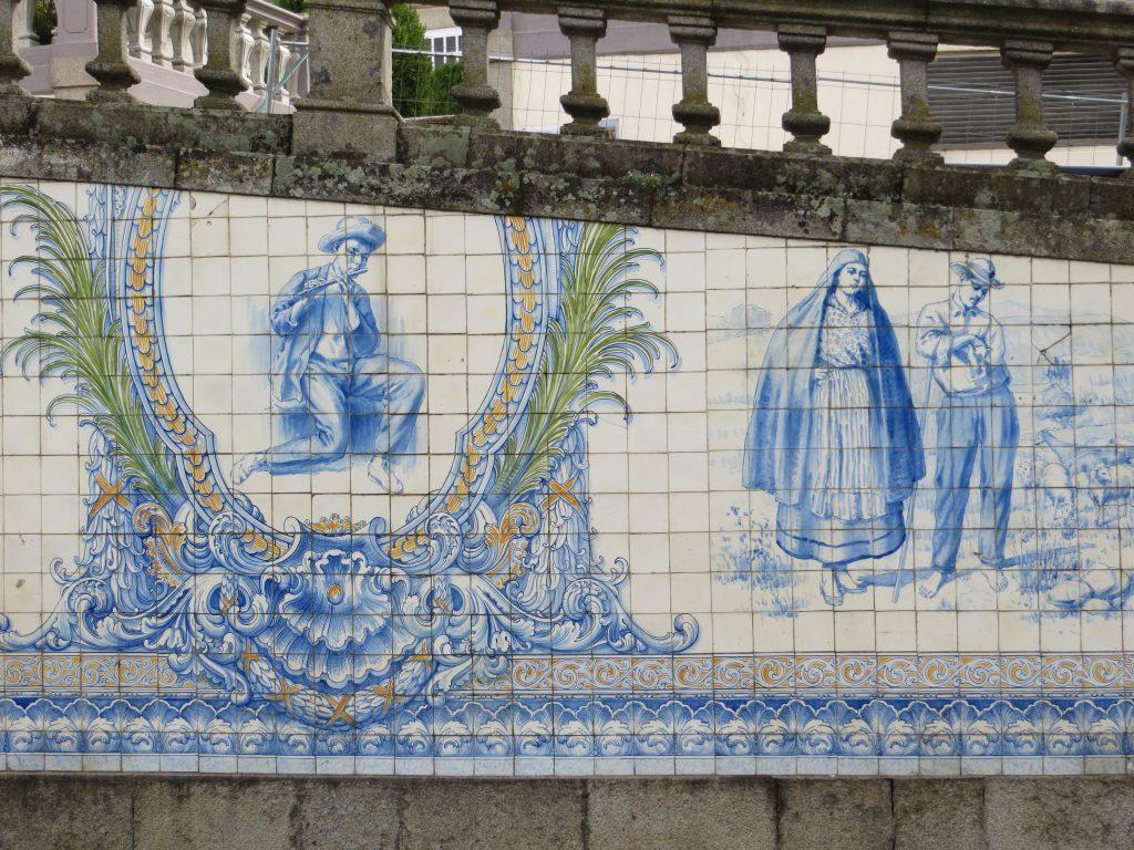 """""""Painel de Azulejos do Rossio"""".[Créditos da imagem: Ruben Marques. 2019-10-15.]"""