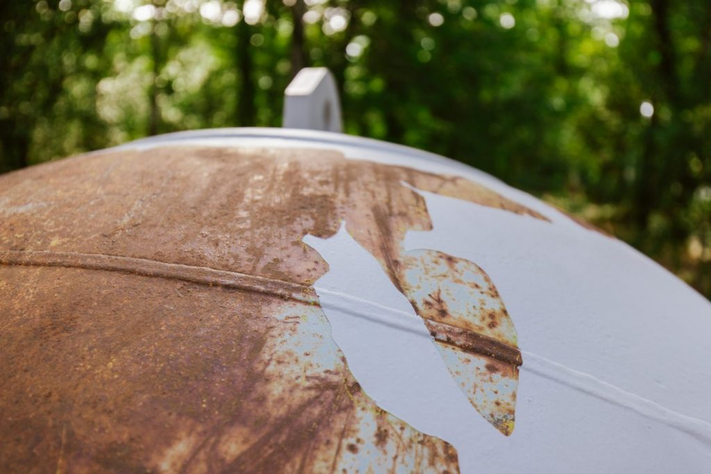 """""""Planeta Primário/Bóia Sideral"""" (Miguel Palma, 2019).[Créditos da Imagem: Luís Belo p/ POLDRA - Public Sculpture Project Viseu. 2019-10-12.][Cedência: POLDRA - Public Sculpture Project Viseu. 2019-11-13]"""
