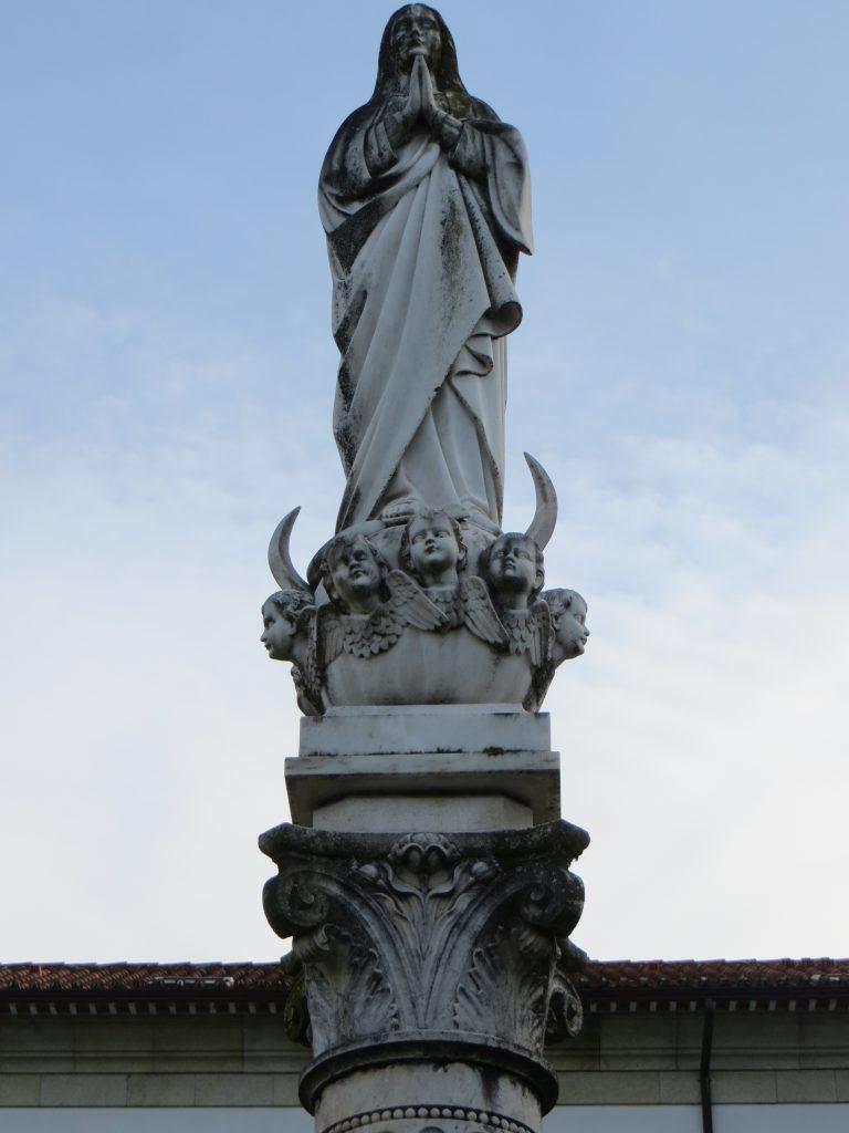 """""""Nossa Senhora da Conceição"""".[Créditos da imagem: Ruben Marques. 2019-11-11.]"""